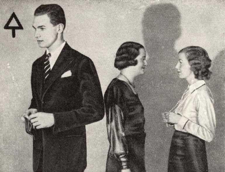 etikettfrågor beteende mot damer och äldre