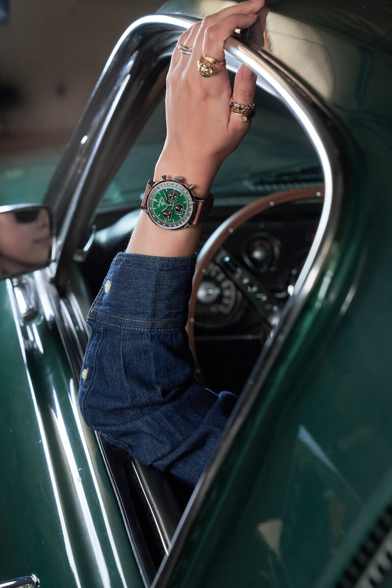 breitling top time mustang