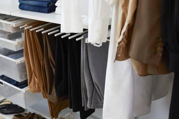 klädförvaring herrmode