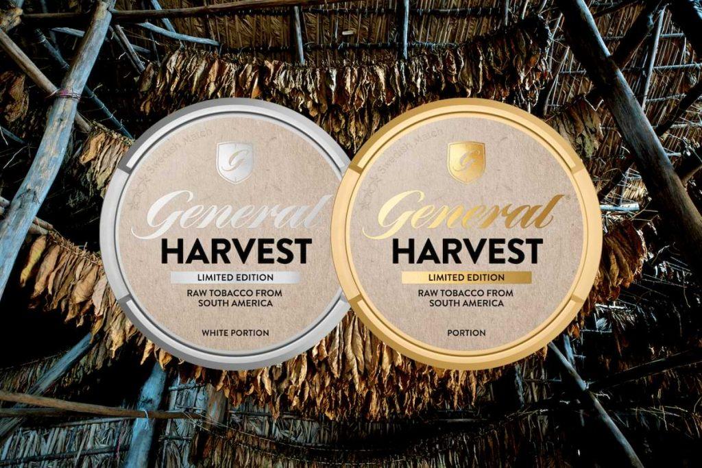 nytt snus från general harvest