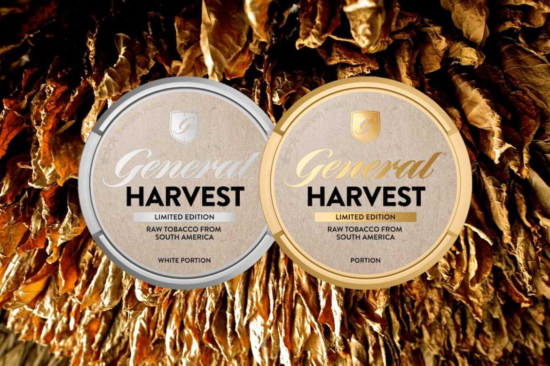 general harvest nytt snus med äkta tobaksmak