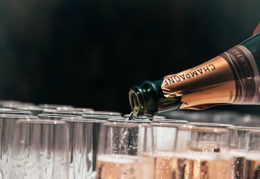 mest exklusiva champagner
