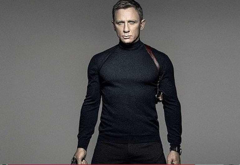 James Bond märken i filmer och böcker