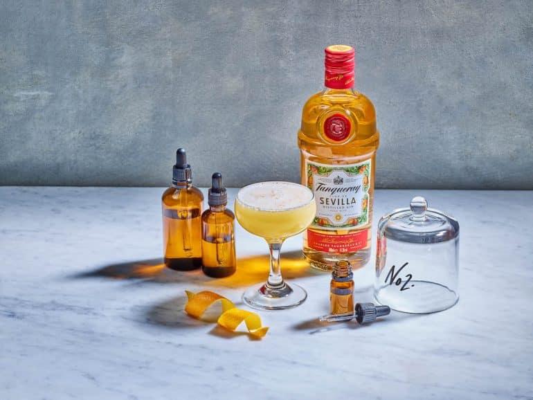 cocktailmeny med dofter