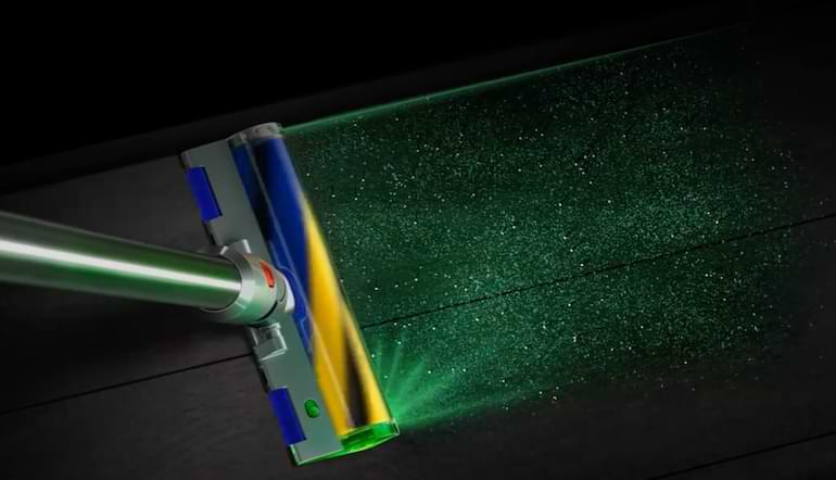 bästa dyson dammsugare med laserteknologi 2021