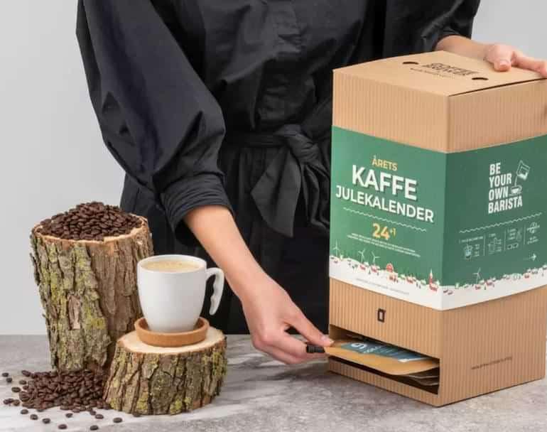 bästa julkalender med kaffe 2021