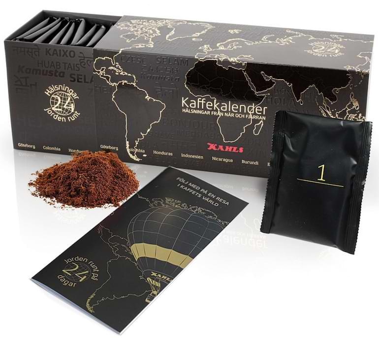 adventskalendrar för kaffe 2021