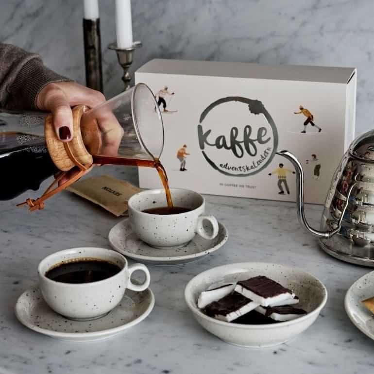 kaffeadventskalender för bryggkaffe 2021