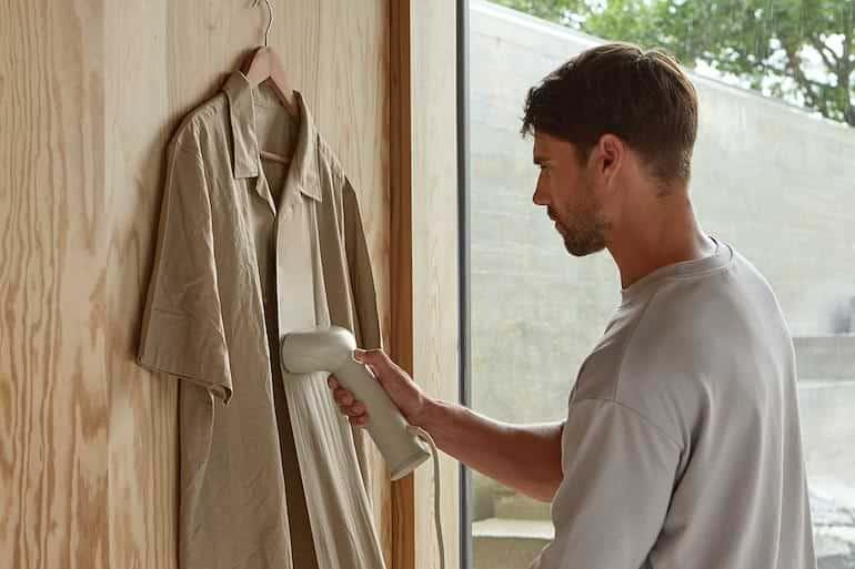 klädvård för män